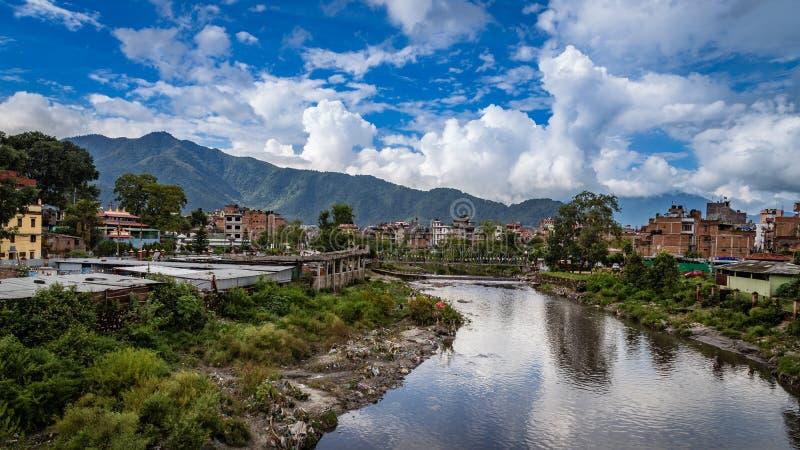 Kathmandu a capital de Nepal imagens de stock royalty free