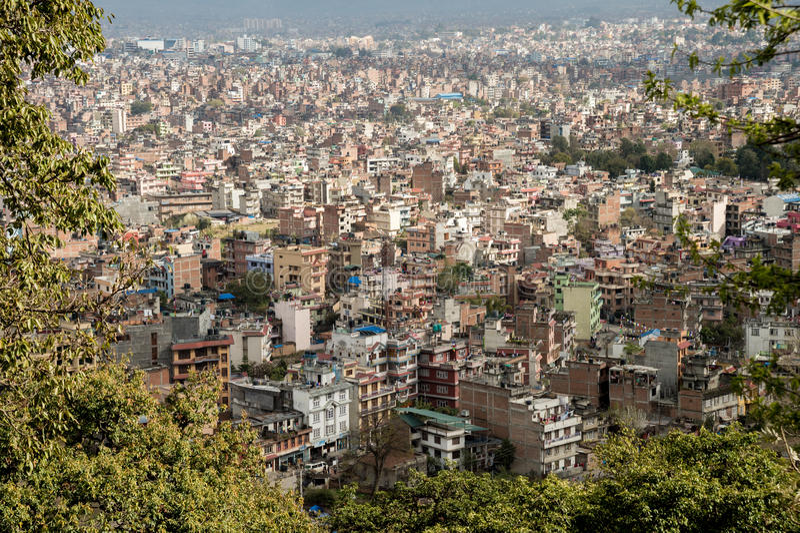 Kathmandu Cityscape royalty free stock images