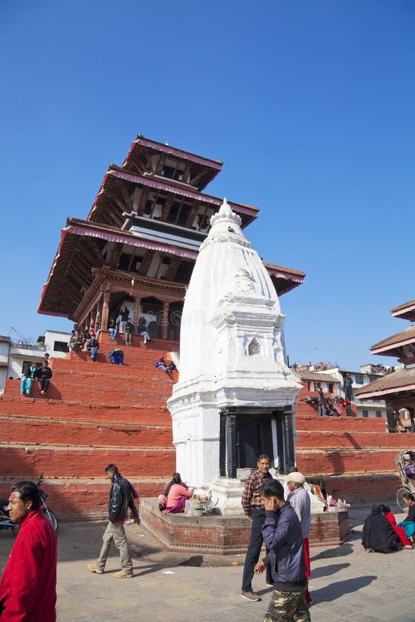 Kathmandu Durbar Square, Nepal royalty free stock image