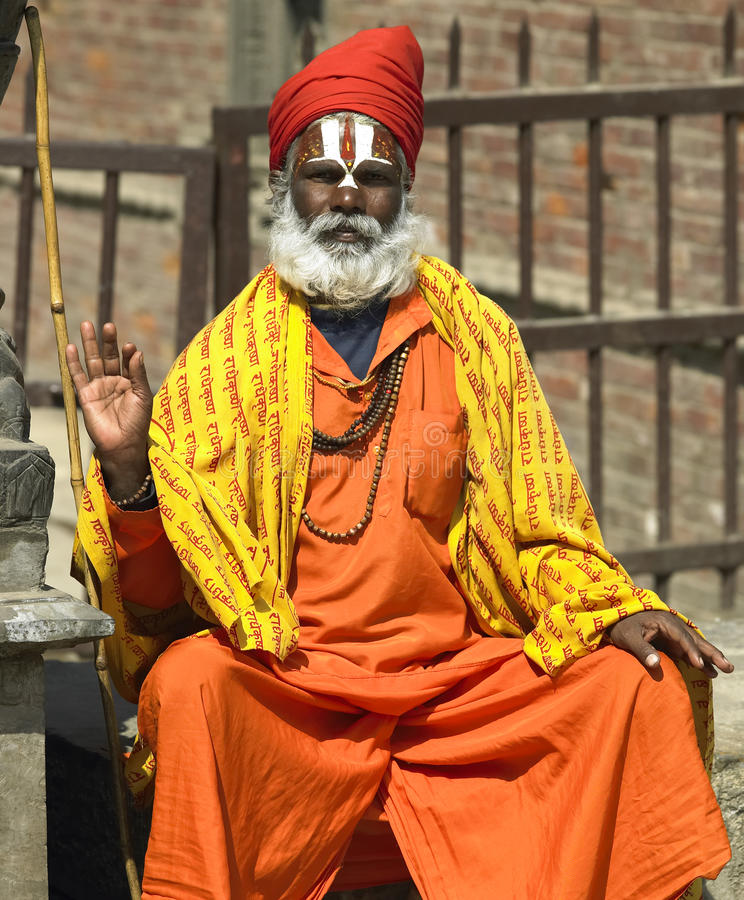 Kathmandu em Nepal foto de stock royalty free