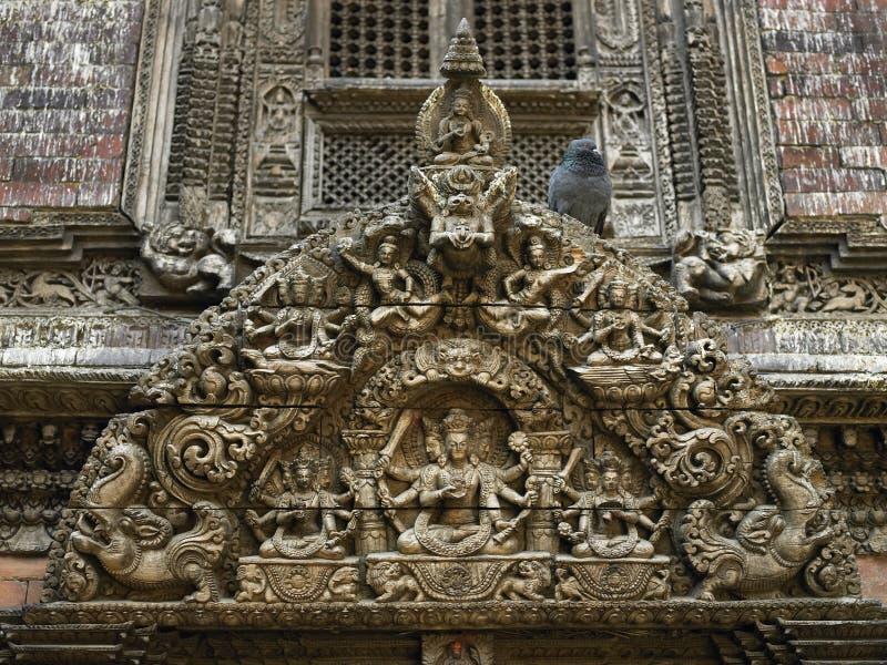 Kathmandu - Il Nepal - Conservazione Fotografia Stock