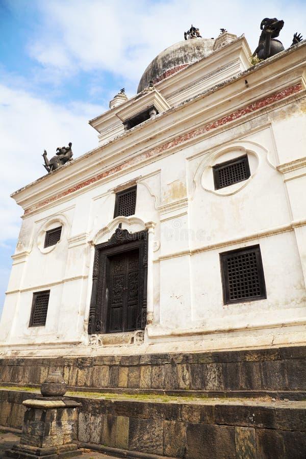 kathmandu Nepal świątyni thapathali obraz stock