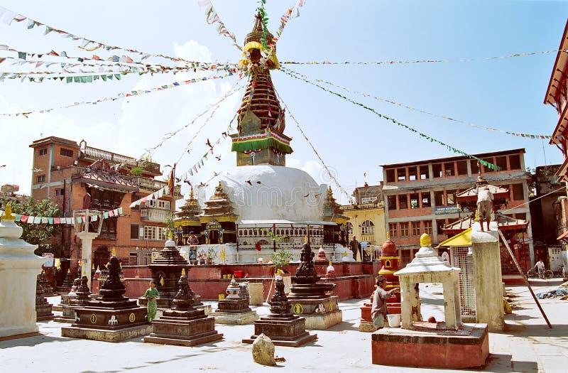 kathmandu nepal arkivfoto