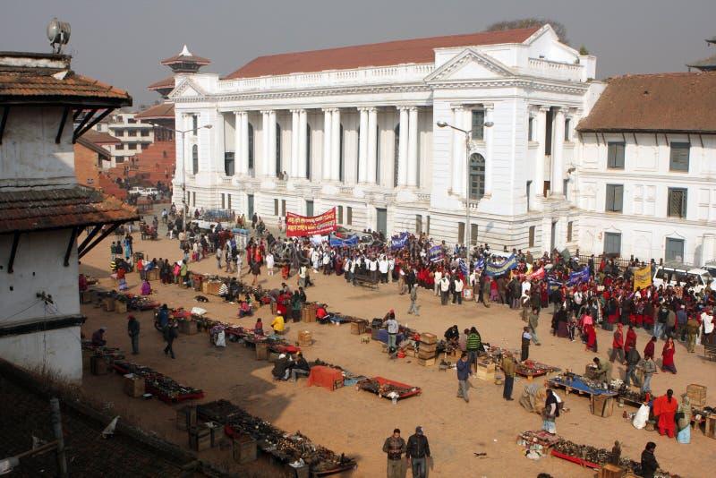 kathmandu nowy rok fotografia stock