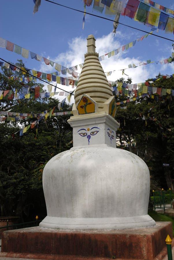 kathmandu stupa fotografering för bildbyråer
