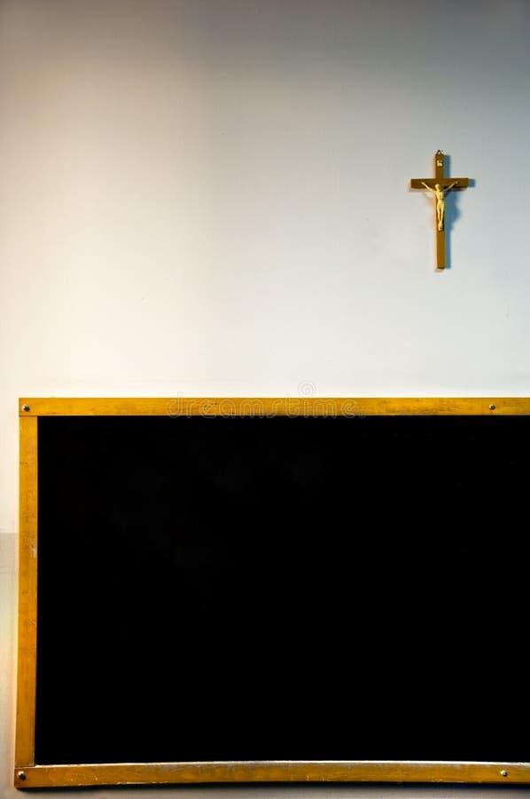 Katholiek Klaslokaal stock foto's