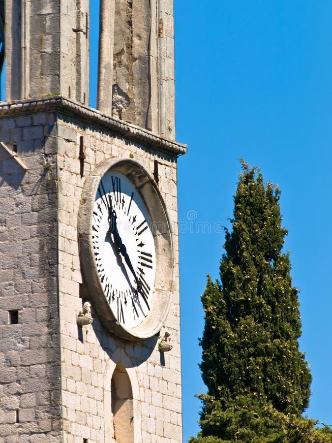 Katholiek klooster stock foto's