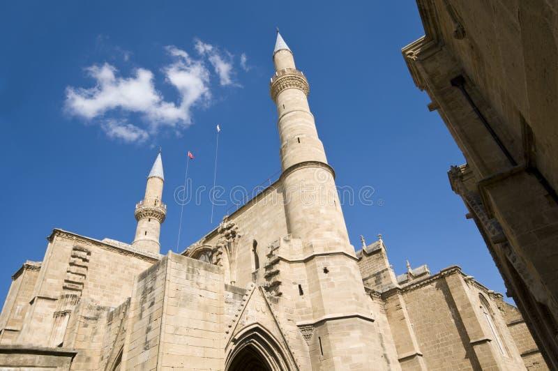 Katholieke kathedraal van Ayia Sofia, Nicosia royalty-vrije stock afbeeldingen