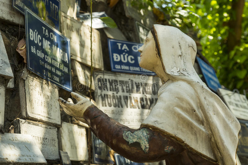 Katholische in Asien stockfotos