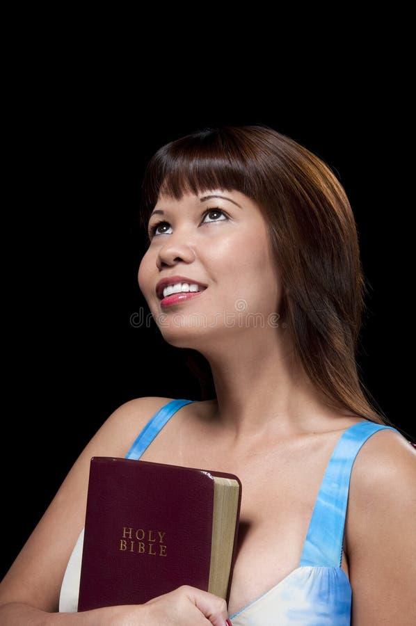 Katholische Frau stockbild