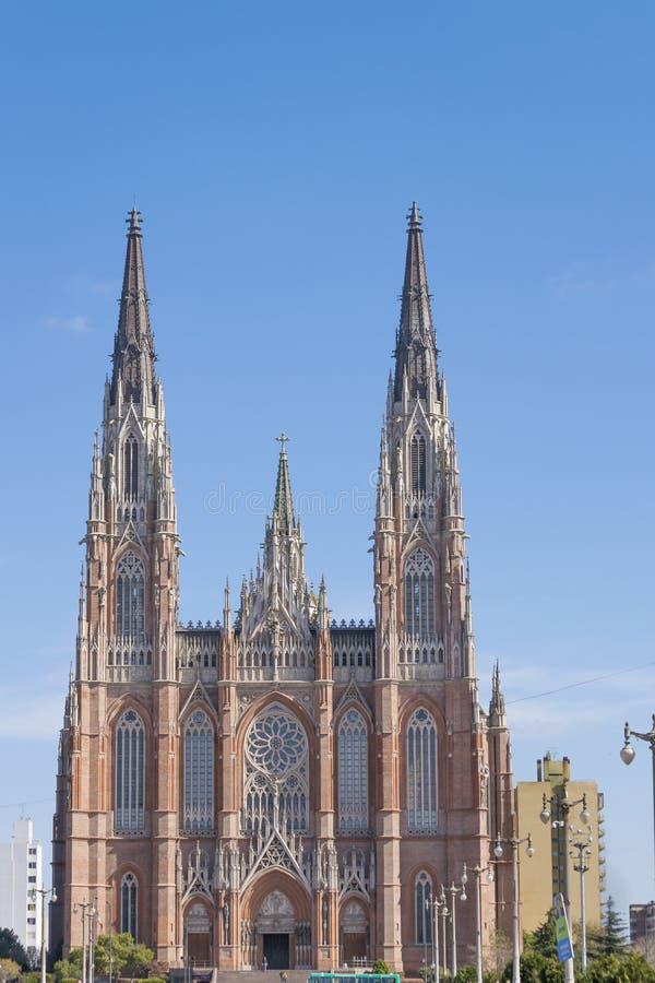 Katholische hauptsächlichkirche von La Plata Buenos Aires lizenzfreies stockbild