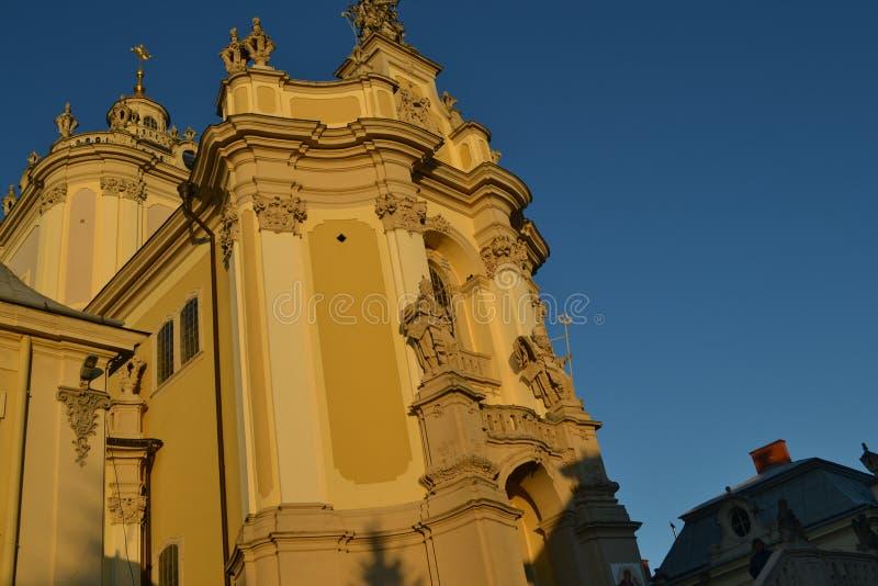 Katholische Kathedrale lizenzfreie stockfotos