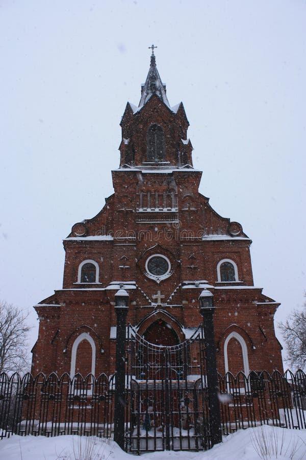 Katholische Kirche stockbild