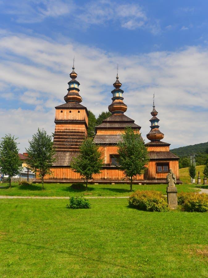 Katholische Kirche des Altgriechischs in Krepna stockbilder