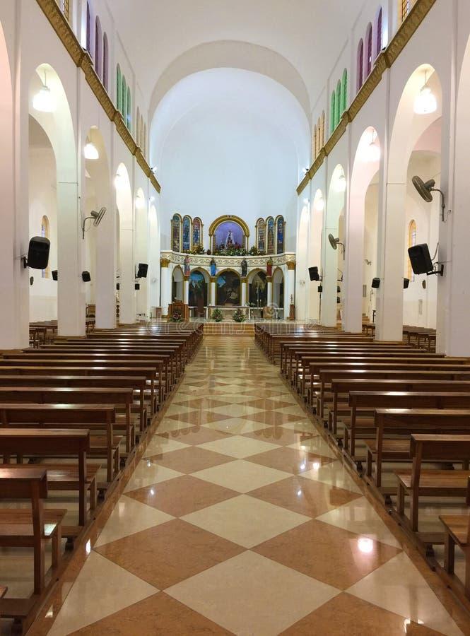 KATHOLISCHE KIRCHE MONTECRISTI, INNEN stockfotos