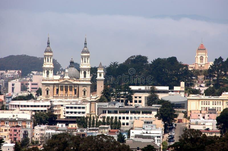 Katholische Kirche Str.-Ignatius stockfotos