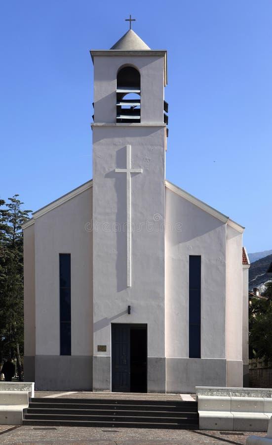 Katholische Kirche, Torbole, See Garda, Torbole, Italien stockfotografie