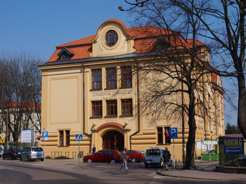 Katholische Universität von Lublin, Polen lizenzfreies stockbild