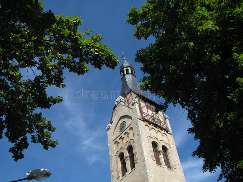 Katholisches Ñ- hurch Alte Kapelle stockbild