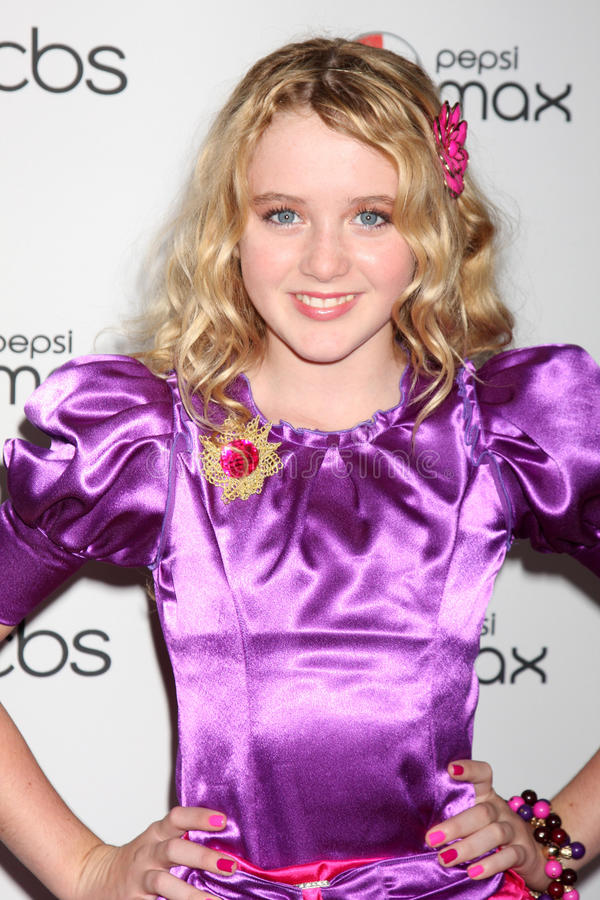 Kathryn Newton,The Fall. Kathryn Newton arriving at the CBS Fall Preveiw Party My House Club Los Angeles, CA September 16, 2009 royalty free stock photos