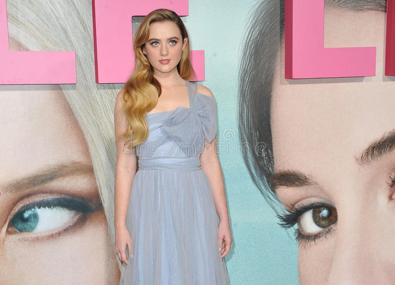 Kathryn Newton. At the HBO`s premiere of `Big Little Lies` held at the TCL Chinese Theatre in Hollywood, USA on February 7, 2017 stock photos