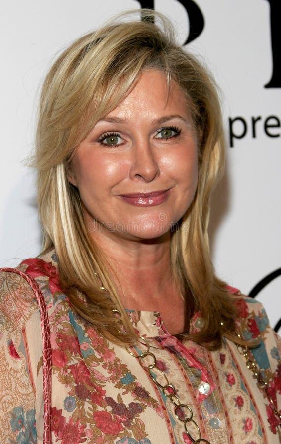 Kathy Hilton imagen de archivo libre de regalías