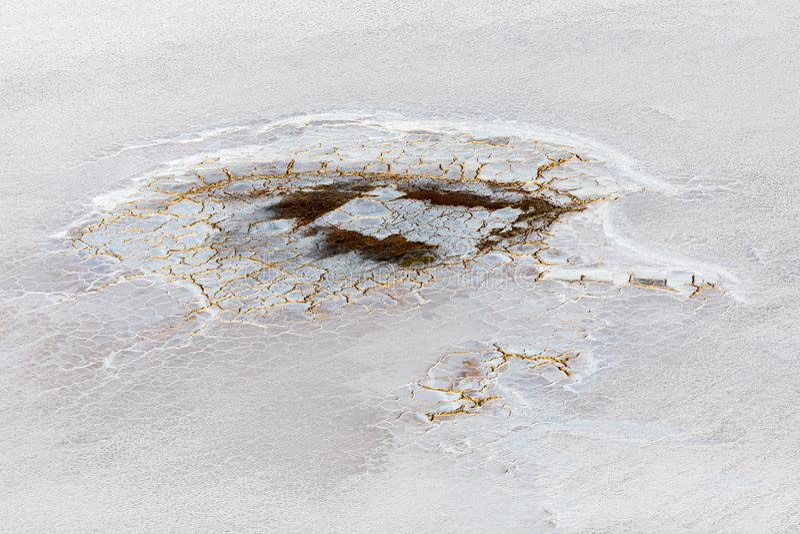 Kati Thanda-Lake Eyre, Australie du sud, Australie image libre de droits