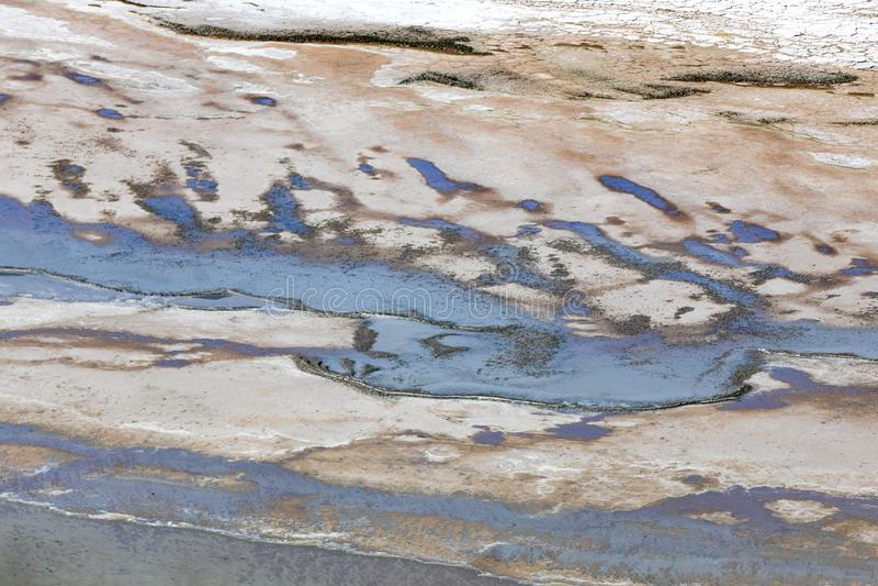 Kati Thanda-Lake Eyre, Australie du sud, Australie photo stock