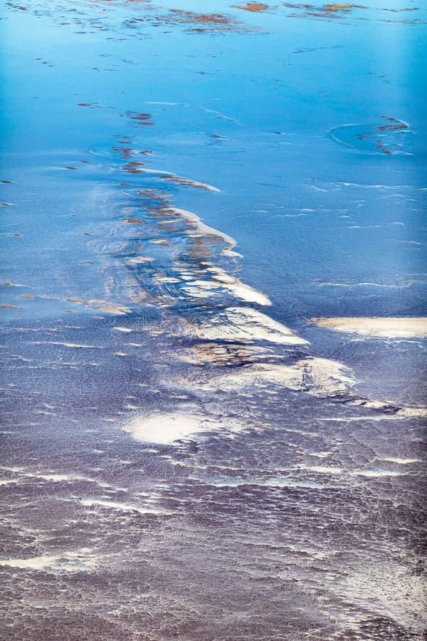 Kati Thanda-Lake Eyre, Australie du sud, Australie photographie stock