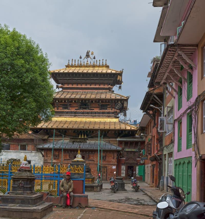 Katiandu Nepal Patan imagenes de archivo
