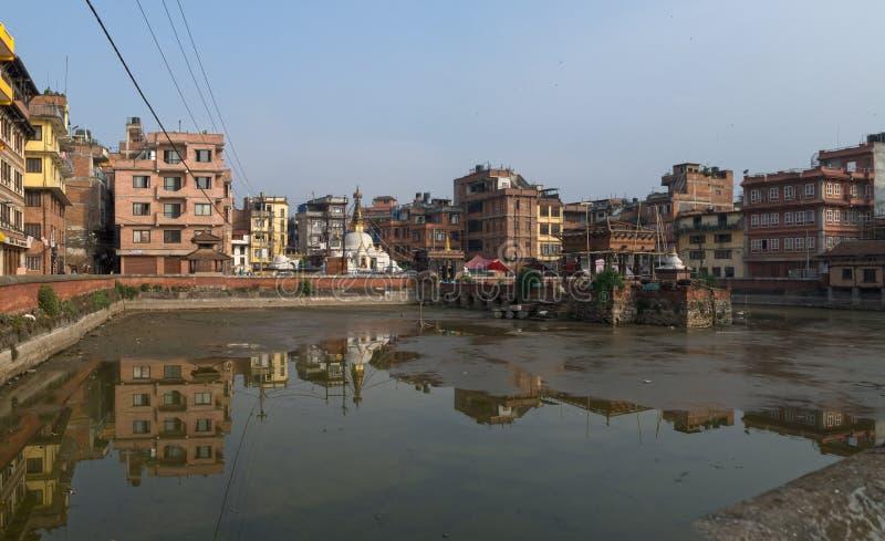 Katiandu Nepal, Patan, Asia imágenes de archivo libres de regalías