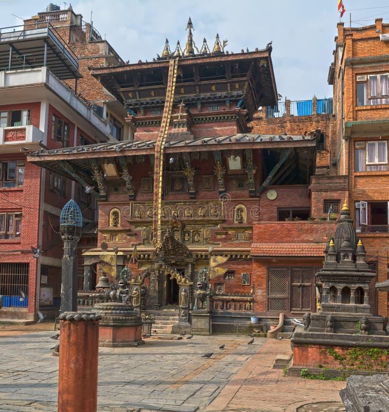 Katiandu Nepal, Patan, Asia imagen de archivo libre de regalías