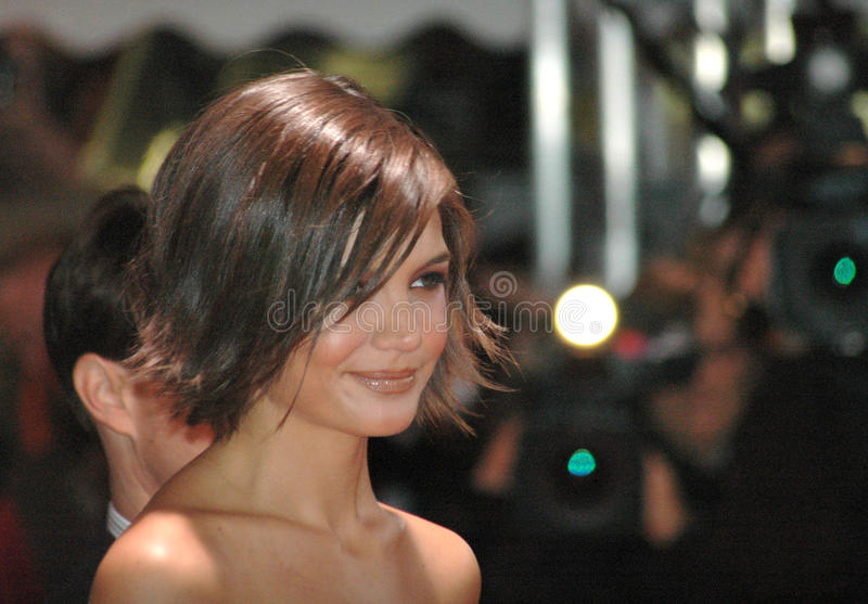 Katie Holmes stock photography
