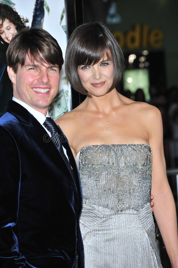 Download Katie Holmes, Tom Cruise Editorial Stock Photo - Image: 23752363