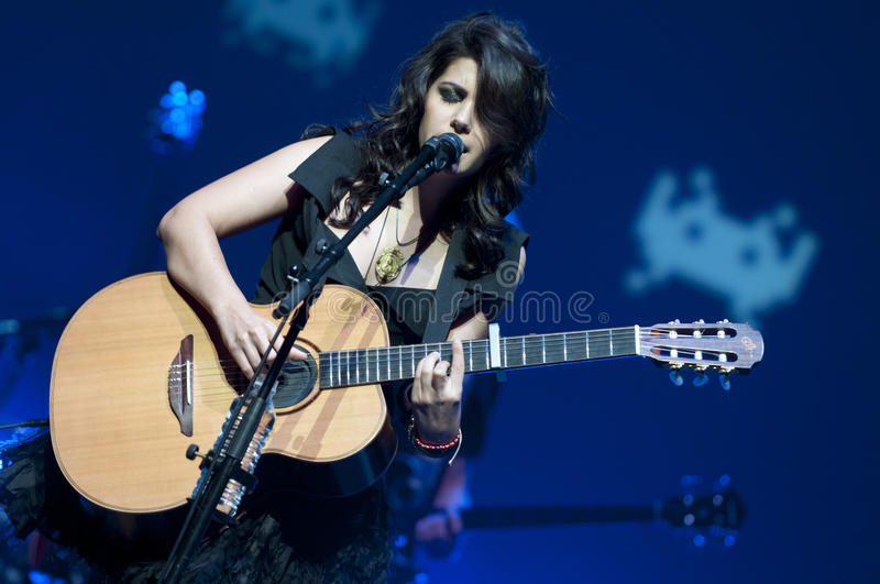 Download Katie Melua on stage editorial stock image. Image of performance - 20912469