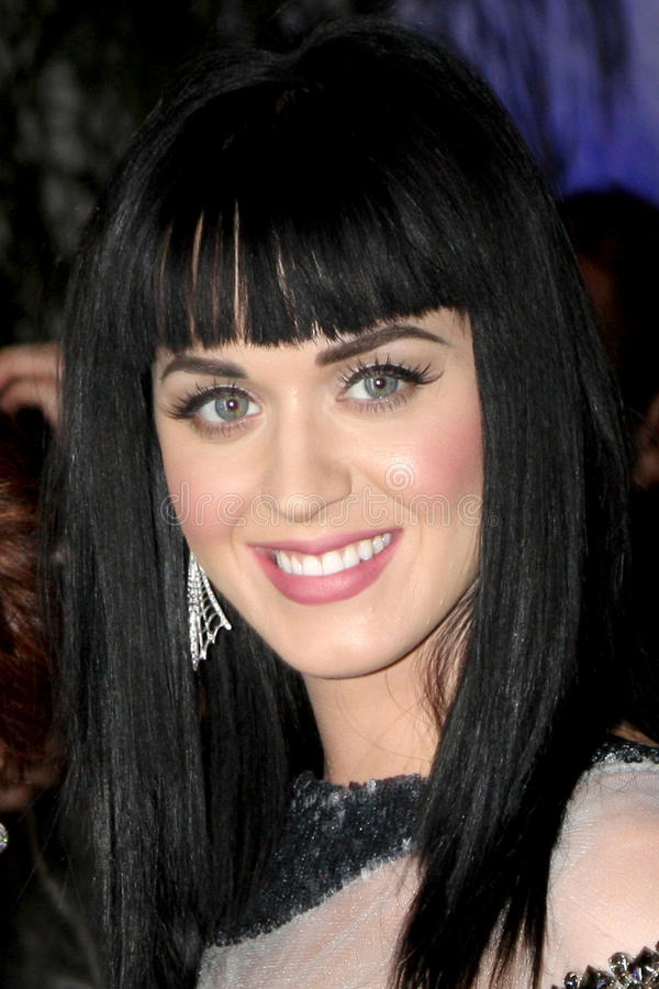 Katie Perry, marque de Russell, Katy Perry image stock