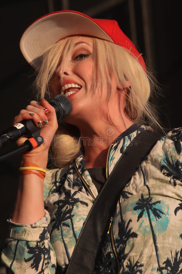 Download Katie White Of The Ting Tings. Editorial Stock Image - Image: 26296719