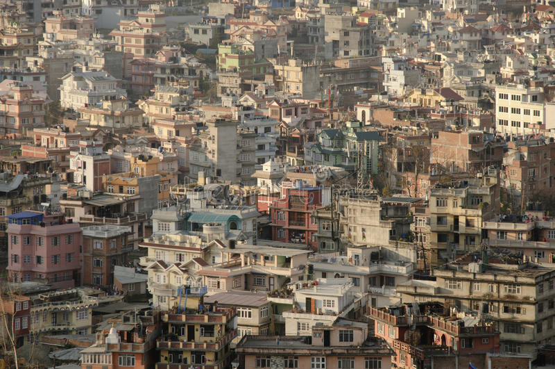 Katmandou image libre de droits