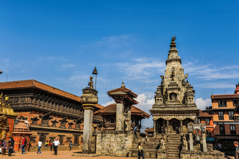 Katmandu av Nepal arkivfoton