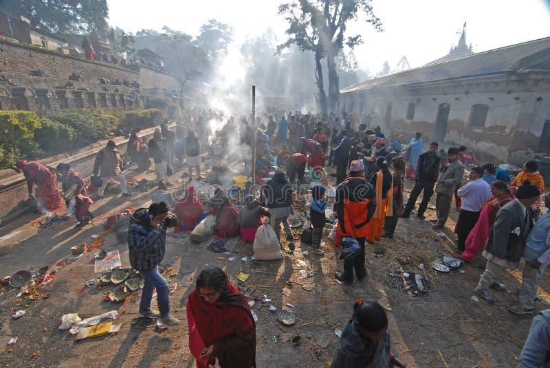 Katmandu: Die lebende Göttin stockfoto
