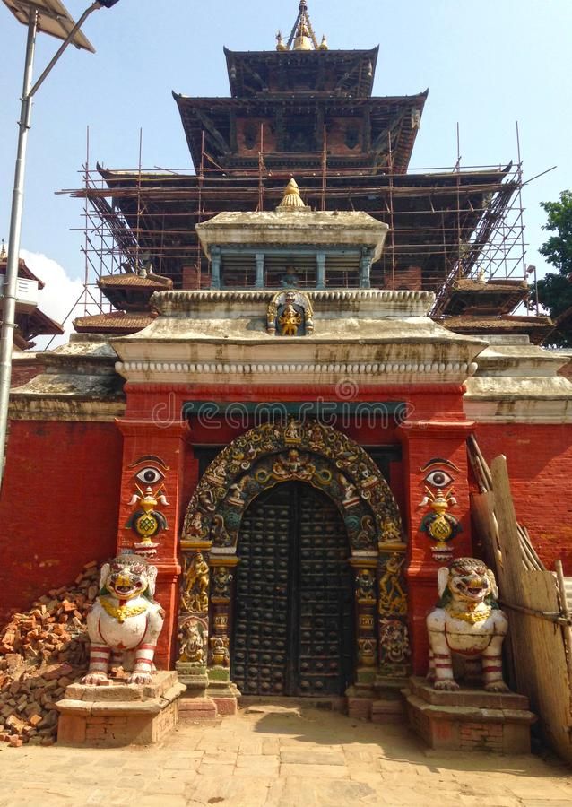 Katmandu Durbar fyrkant i Katmandu arkivfoto