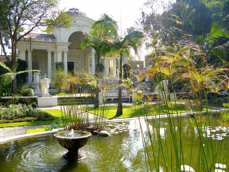 Kathmandu Garden of dreams. Nepal Kathmandu Garden of dreams royalty free stock image