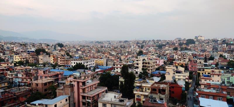 Katmandu Nepal arkivbilder
