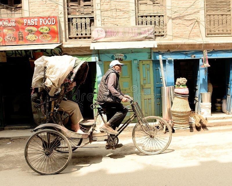 Katmandu stad, Napel royaltyfria foton