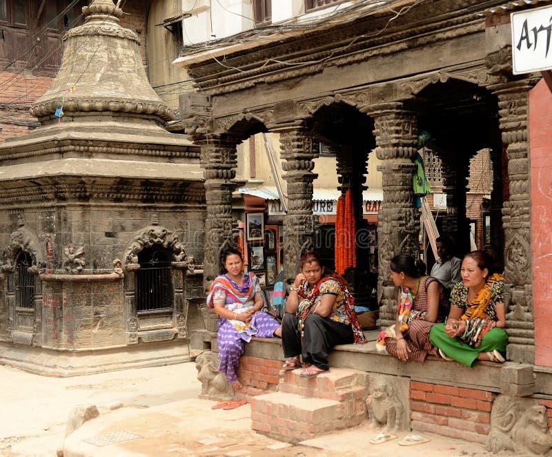 Katmandu stad, Napel arkivfoton