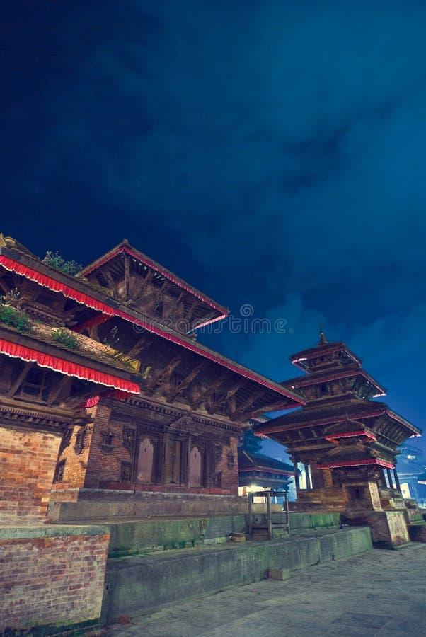 Katmandu-Tempel lizenzfreie stockfotos