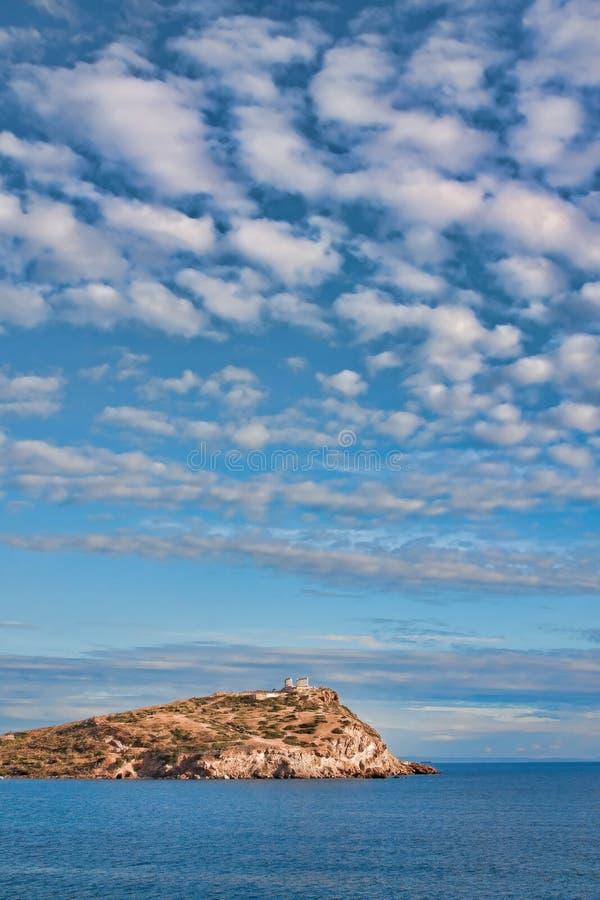 Kato Sounio royalty free stock photography