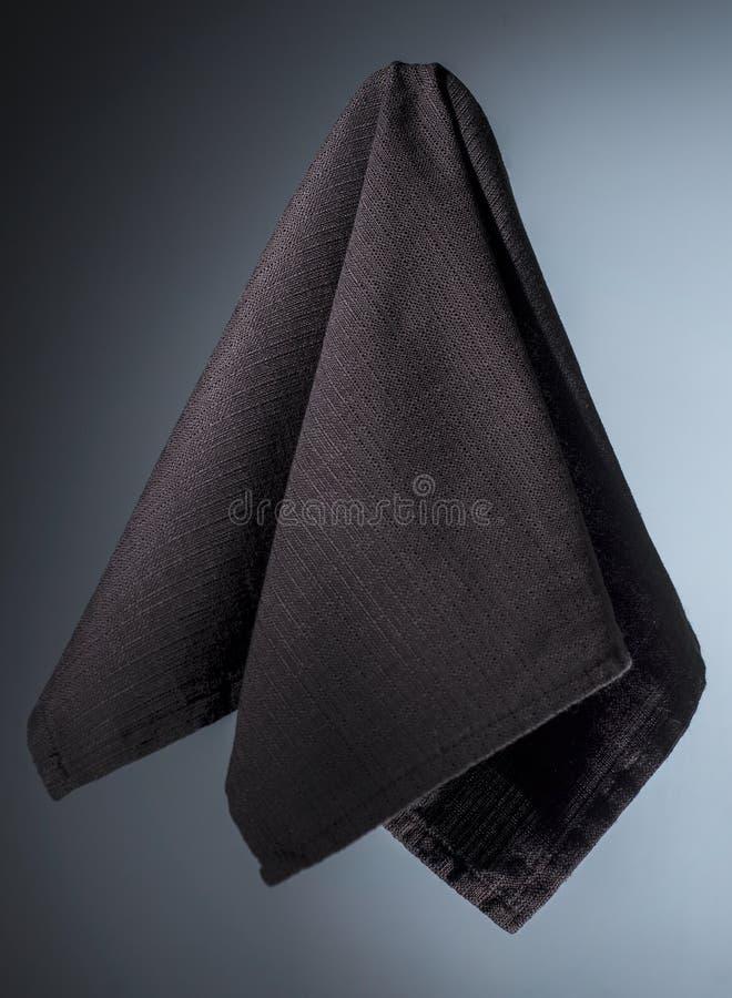 Katoenen bruin servet stock foto's