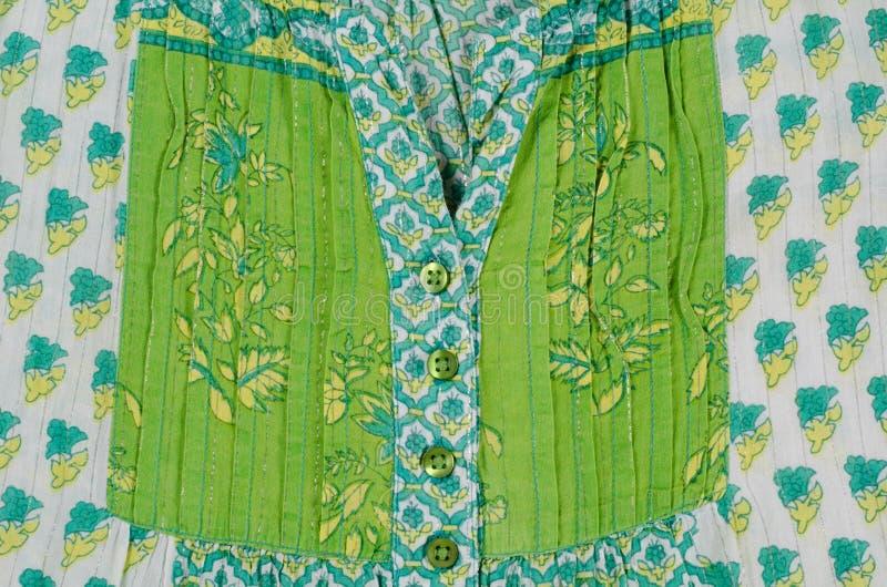 Katoenen doek royalty-vrije stock afbeeldingen