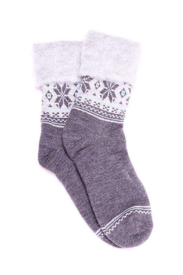 Katoenen sokken stock foto